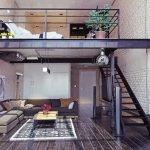 Interior Chain Link Fencing & Industrial, Modern Design