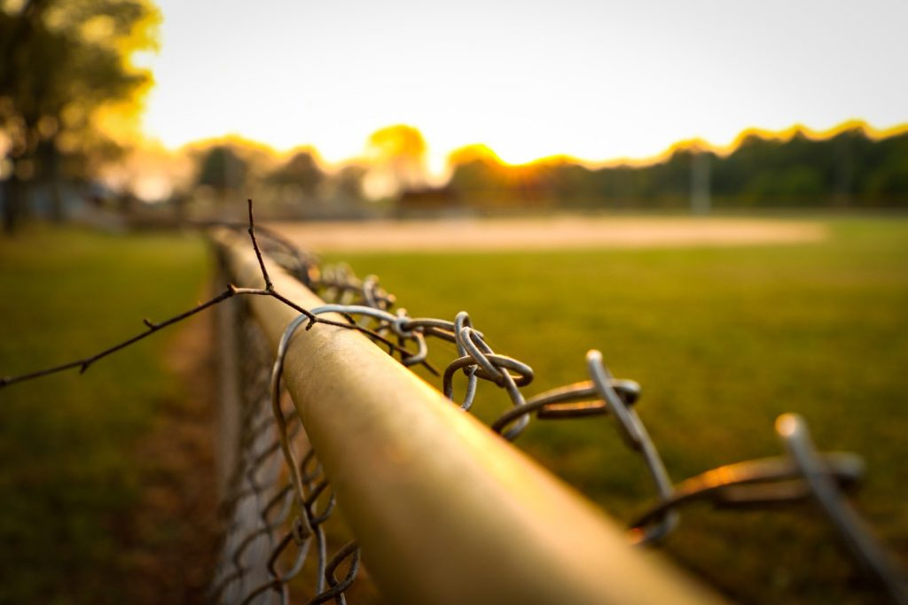 A fence in disrepair